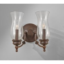 <strong>Feiss</strong> Pickering Lane 2 Light Wall Sconce