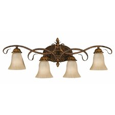 Sonoma Valley 4 Light Vanity Light