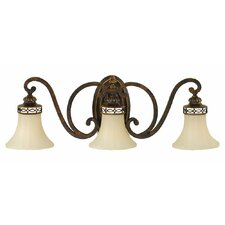 Edwardian 3 Light Vanity Light