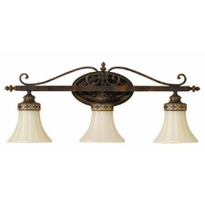 <strong>Feiss</strong> Drawing Room 3 Light Bath Vanity Light