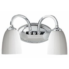 <strong>Feiss</strong> Perry 2 Light Bath Vanity Light