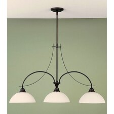 <strong>Feiss</strong> Boulevard 3 Light Kitchen Island Pendant