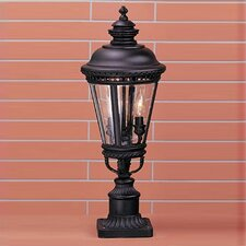 "Castle 3 Light 9.25"" Post Lantern"