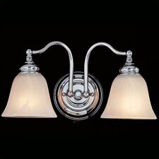 Bristol 2 Light Bath Vanity Light