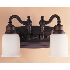 Canterbury 2 Light Bath Vanity Light