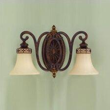 Edwardian 2 Light Vanity Light