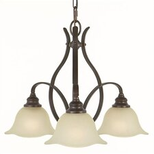 Morningside 3 Down Light Mini Chandelier