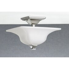 American Foursquare 4 Light Semi Flush Mount