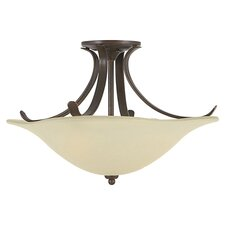 Morningside Large Semi Flush Mount
