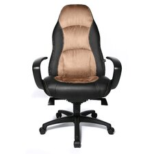 "Chefsessel ""Speed Chair"" in Hellbraun / Schwarz"
