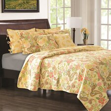 <strong>Greenland Home Fashions</strong> Sunset Quilt Collection