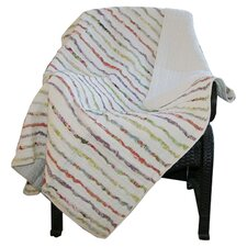 <strong>Greenland Home Fashions</strong> Bella Cotton Ruffle Throw