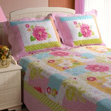 <strong>Greenland Home Fashions</strong> Adora Quilt Set