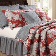 <strong>Greenland Home Fashions</strong> Lorraine Bonus Quilt Set