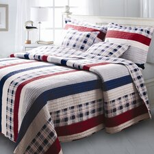 <strong>Greenland Home Fashions</strong> Nautical Quilt Collection