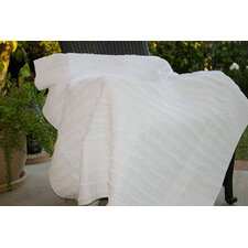 Cotton Ruffled Throw