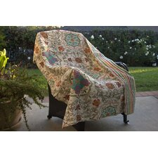 <strong>Greenland Home Fashions</strong> Esprit Spice Cotton Throw