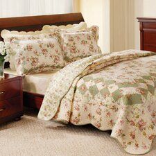 <strong>Greenland Home Fashions</strong> Bliss Quilt Collection