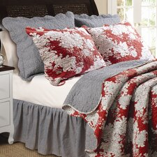 <strong>Greenland Home Fashions</strong> Lorraine Quilt Set