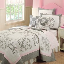 <strong>Greenland Home Fashions</strong> Scottie Quilt Set
