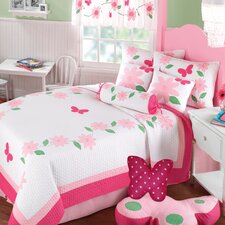 <strong>Greenland Home Fashions</strong> Papillon Quilt Collection