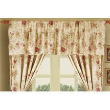 "Antique Rose 84"" Curtain Valance"