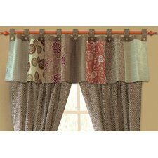 "Stella Tab Top Tailored 84"" Curtain Valance"