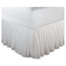 "Cotton Voile Bedskirt 18"" Drop"