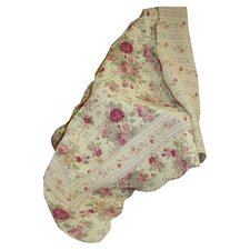 Antique Rose Cotton Throw