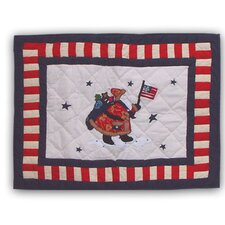 Colonial Santa Pillow Sham