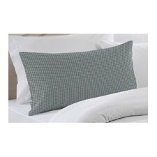 Blue Sky and White Gingham Checks Pillow Sham