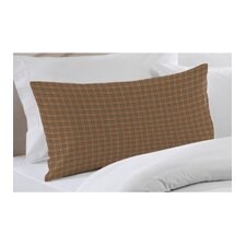 <strong>Patch Magic</strong> Golden Brown Plaid Pillow Sham