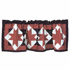 American Star Cotton Curtain Valance