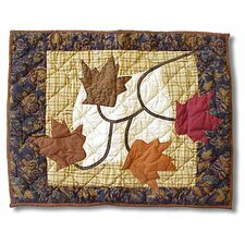 <strong>Patch Magic</strong> Autumn Leaves Standard Pillow Sham