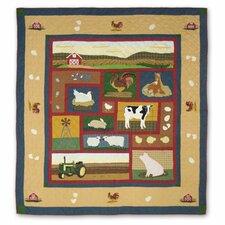 Barnyard Queen Duvet Cover / Comforter