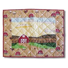 <strong>Patch Magic</strong> Barnyard Standard Pillow Sham