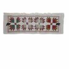 "Bear's Paw 54"" Curtain Valance"