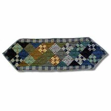 Chambray Nine Patch Table Runner