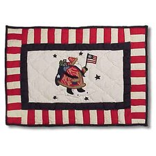 Colonial Santa Placemat (Set of 4)
