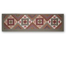 Country Roads Cotton Curtain Valance