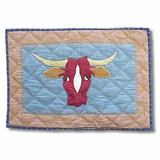 Cowboy Long Horn Placemat (Set of 4)