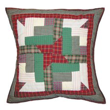 Cranberry Pinwheel Toss Pillow