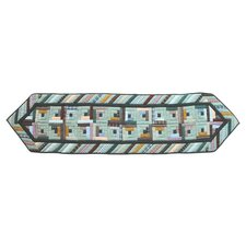 Diamond Log Cabin Table Runner