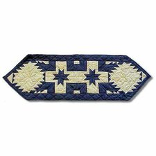 Feathered Star Table Runner