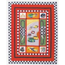 <strong>Patch Magic</strong> Racecar Quilt