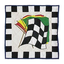 Racecar Toss Pillow