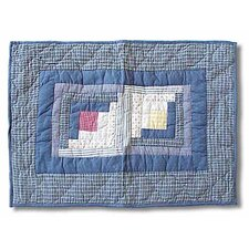 Sail Log Cabin Pillow Sham