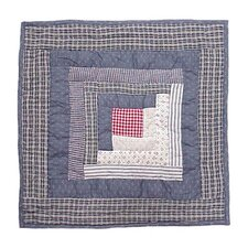 Sail Log Cabin Toss Pillow