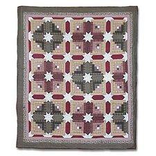 Snowflake Log Cabin Duvet Cover / Comforter