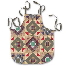 Square Diamond Apron